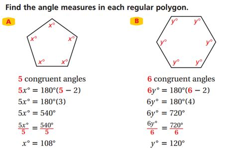 How To Find The Interior Angle Of A Hexagon by Lesson 7 3 Polygons Faribault Schools Isd 656