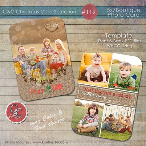 whcc boutique card templates photo card selection 119 card templates on