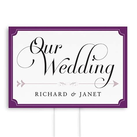 printable wedding road signs expressions wedding directional sign confetti co uk