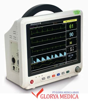 Patient Monitor Inter Pm 5000 jual patient monitor pm 5000 glorya medica