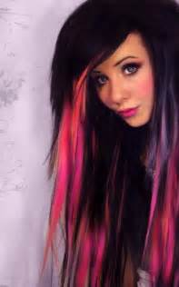 black with colored hair coolest hairstyle and hair color ideas haircuts