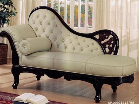 Leather Chaise Lounge Chair Antique Chaise Lounge For Bedroom Lounge Furniture