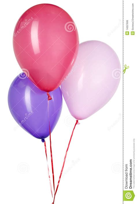 Balloon String - balloon with string for decoration royalty free