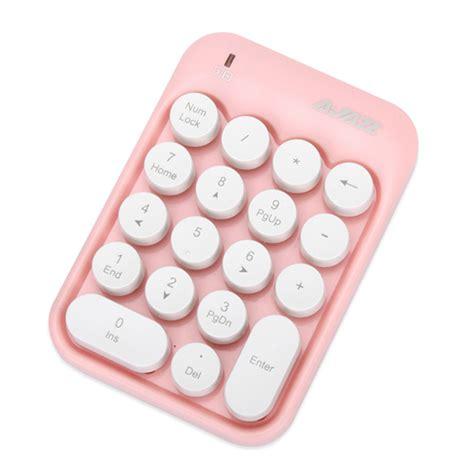 Q Q Numeric Pink ajazz ak18 2 4g wireless numeric keypad pink