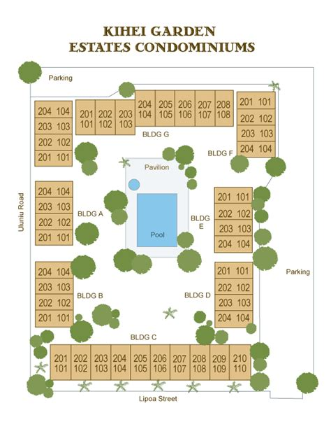 Kihei Garden Estates property directory