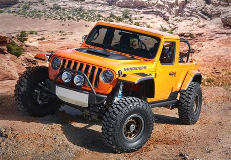 Easter Jeep Safari 2020 by 2018 Moab Easter Jeep Safari Concepts Look The Part