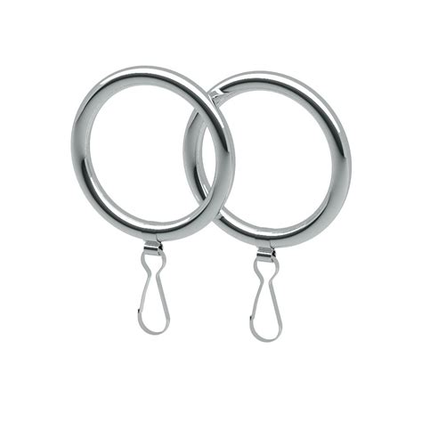 home depot curtain rings gatco curtain rings in chrome 2 pack 834 the home depot