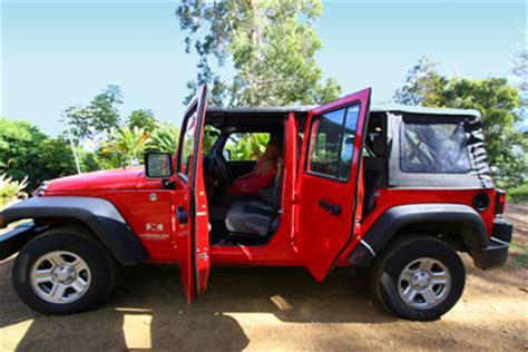 jeep rental hawaii oahu 4 door jeep wrangler rentals oahu kauai and big