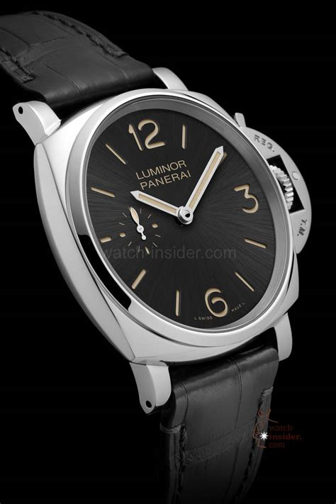 Panerai Luminor 3 panerai luminor due 100 percent panerai but up to 40 percent thinner insider