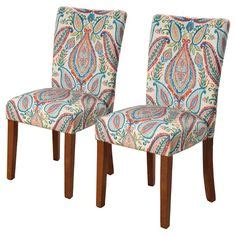 turquoise parson chair covers paisley chair slipcover chair slipcovers