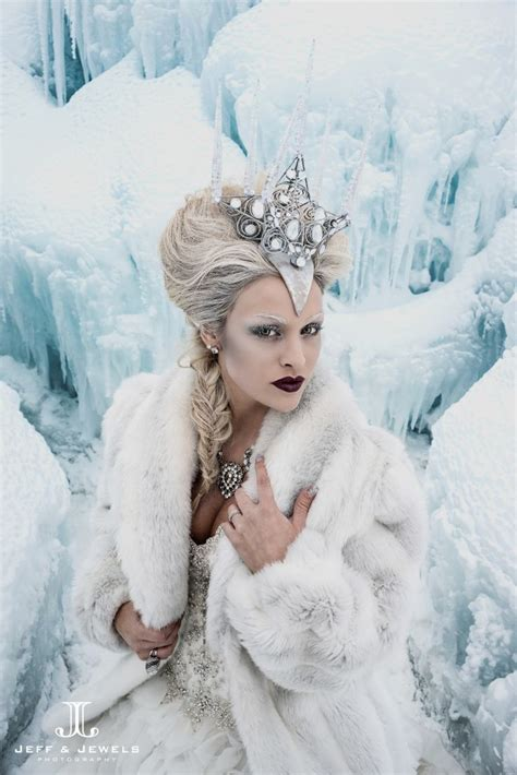 the snow queen a mystickal faerie folke by artist jeff and jewels snow queen style costume