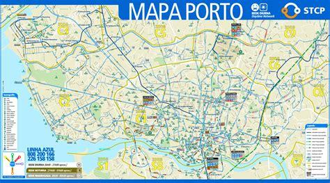porto map porto transport map