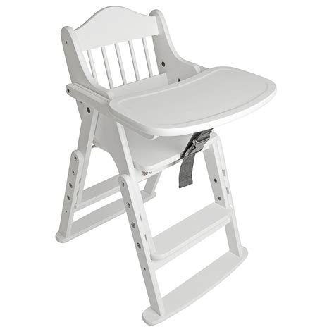 Folding High Chairs For Babies Uk by Safetots Folding Multi Height Wooden Safety Baby And Child High Chair White Ebay
