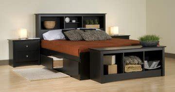 ca king platform bett 4 pc sonoma black platform storage bedroom set at