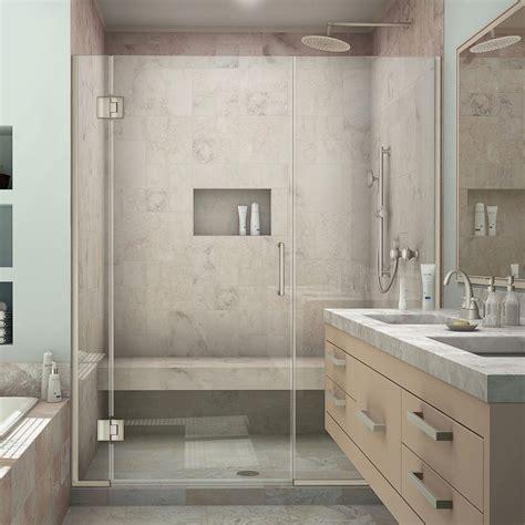 American Standard Ovation 48 In X 72 In Semi Frameless American Standard Frameless Shower Doors