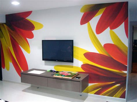 Paintings To Decorate Home by Cool Wall Painting Ideas Home Design Ideas