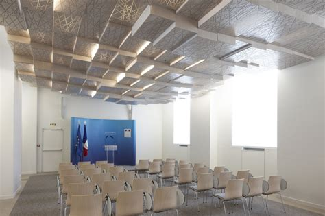 Press Room by H2o Architectes Press Conference Room Ministry Of