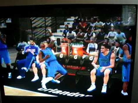 nhl player heart attack on bench nba 2k11 jason terry heart attack on the bench youtube