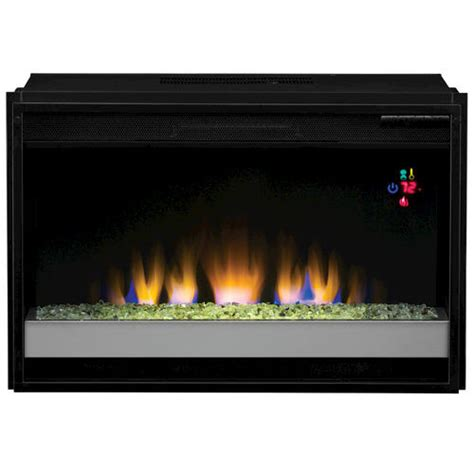 Fireplace Inserts Menards by 26 Quot Fixed Glass Front Electric Insert At Menards 174
