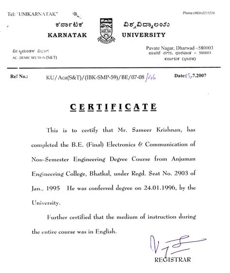 College Bonafide Letter Request Letter Format For Bonafide Certificate From School Application Letter Bonafide