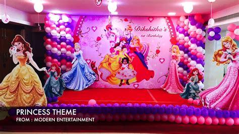 Setelan Motif Princess 8 princess theme 3 from modern event makers