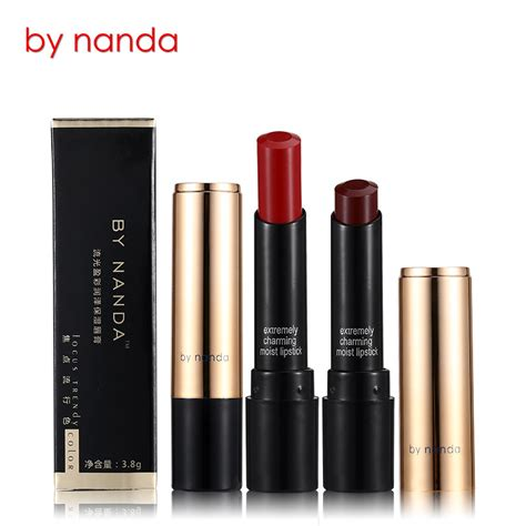 Lipstik Novo nanda lasting lipstick orange jakartanotebook