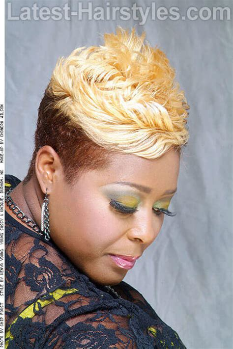 tutorial for black bonded weave hairstyles 15 short weaves that are totally in style right now
