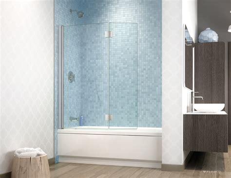 banyo shower doors fleurco glass shower doors banyo siena tub shield