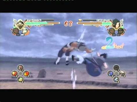 naruto ultimate ninja storm  kakuzu  sasuke  battle youtube