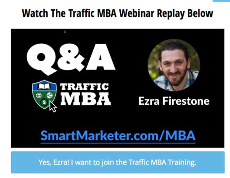 Traffic Mba 2 0 Ezra Firestone by Ezra Firestone Products Nick Sasaki Amazing