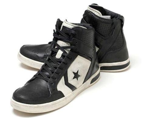 Converse Varvatos Weapon Denim Turtledove Zip converse x by varvatos jv weapon mid black turtledove leather sneakers ebay