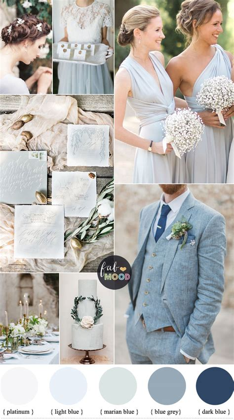 light blue grey wedding colors vision for an wedding