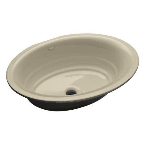 Kohler Garamond Undermount Cast Iron Bathroom Sink In Cast Iron Bathroom Sink