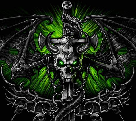 skull wallpaper pinterest green skull wallpapers wallpaper cave skulls