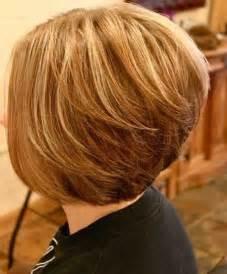medium length stacked bob hairstyles 17 medium length bob haircuts short hair for women and