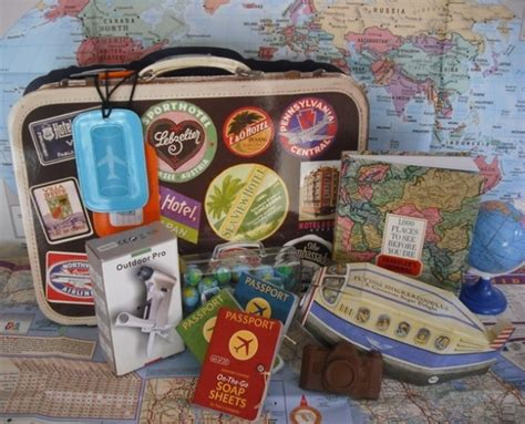 Gifts For A Traveler - travel gift baskets 13 gift basket ideas that rock