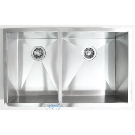32 Inch Stainless Steel Undermount 40 60 Double Bowl 32 Inch Undermount Kitchen Sink