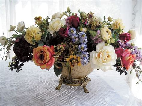 Silk Floral Arrangements For Dining Room Table by Silk Floral Arrangements For Dining Room Table 14645