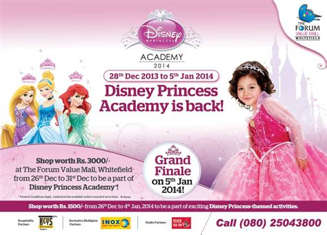 Princess Academy Table Manner forum value mall presents disney princess academy from 28 december 2013 to 5 january 2014