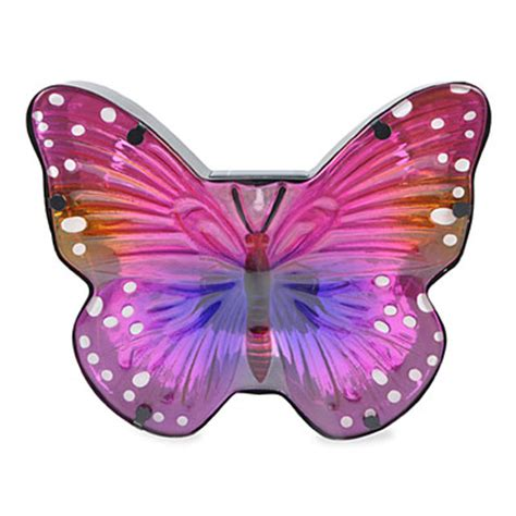 Wilson Fisher 174 Pink Butterfly Solar Light Big Lots Pink Butterfly Lights
