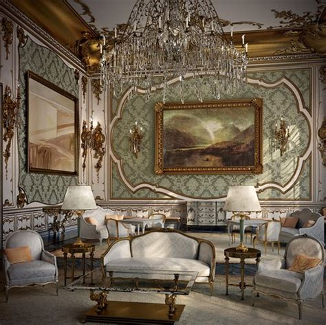 Rococo Room by Rococo Living Room Furnishing Www Freshinterior Me