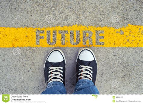 Steps Into Your by Step Into The Future Stock Image Image Of Unknown