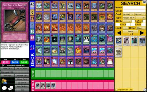 yugioh deck types my yu gi oh deck as it stands now by darticianutopia