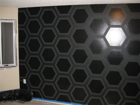 wall paint design ideas with tape geometric triangle wall paint design idea with tape diy
