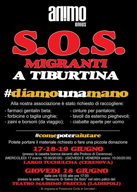 ufficio immigrazione roma orari emergenza migranti animo onlus scende in co gazzetta