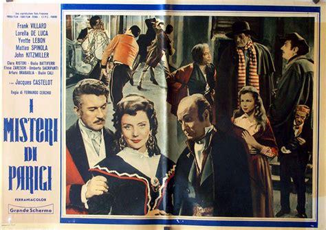 Film Misteri Di Tpi | quot i misteri di parigi quot movie poster quot misterios de paris