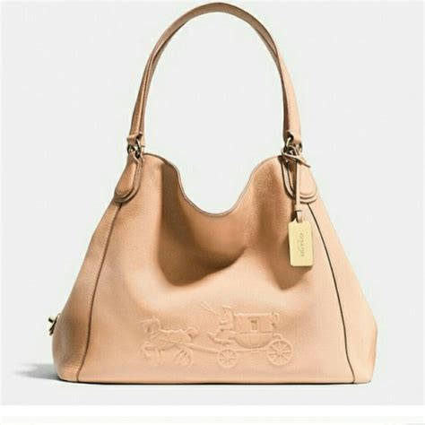 37 coach handbags coach with logo embossed bag from