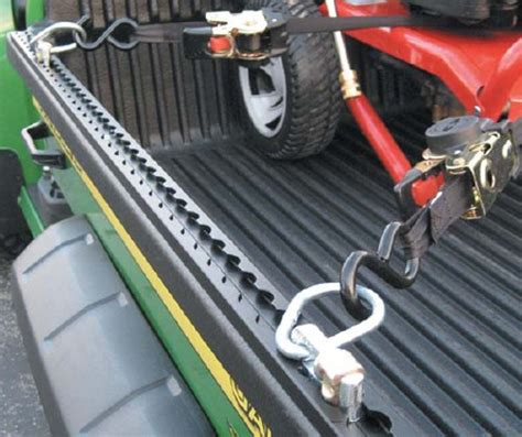 truck bed tie down system anchortrax truck bed and trailer cargo control system w