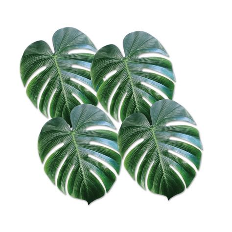 Tropical Palm Leaves | Beach Party | Decorations | Party ... Luau Food Ideas For Party