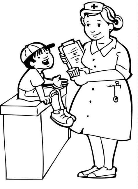 doctor coloring pages preschool doctor coloring pages for kids coloring home